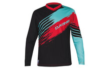 Dakine Siege Men's Jersey l/s red/mint